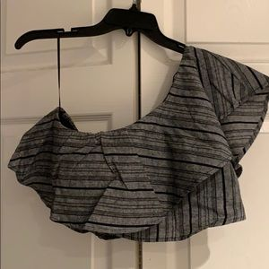 Tops - Ruffled one shoulder top never used